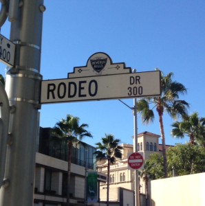 Rodeo Drive in Beverly Hills home to some of the Best Beverly Hills Hotels