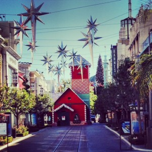 A Hollywood Christmas at The Grove Los Angeles