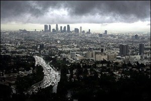 Rain in Los Angeles!  We Embrace it with Open Arms.