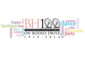 Beverly Hills Centennial Block Party on Rodeo Drive
