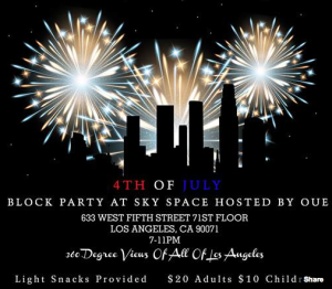4th of July Los Angeles Events