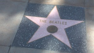 The Beatles on The Walk of Fame
