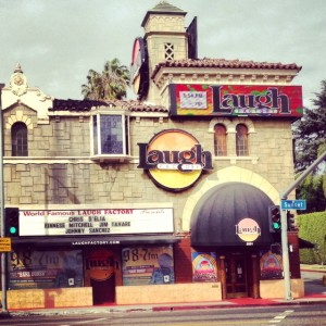 Laugh Factory on Sunset