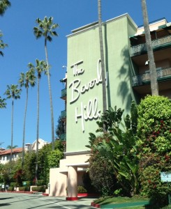 Beverly Hills Hotel and The Polo Lounge