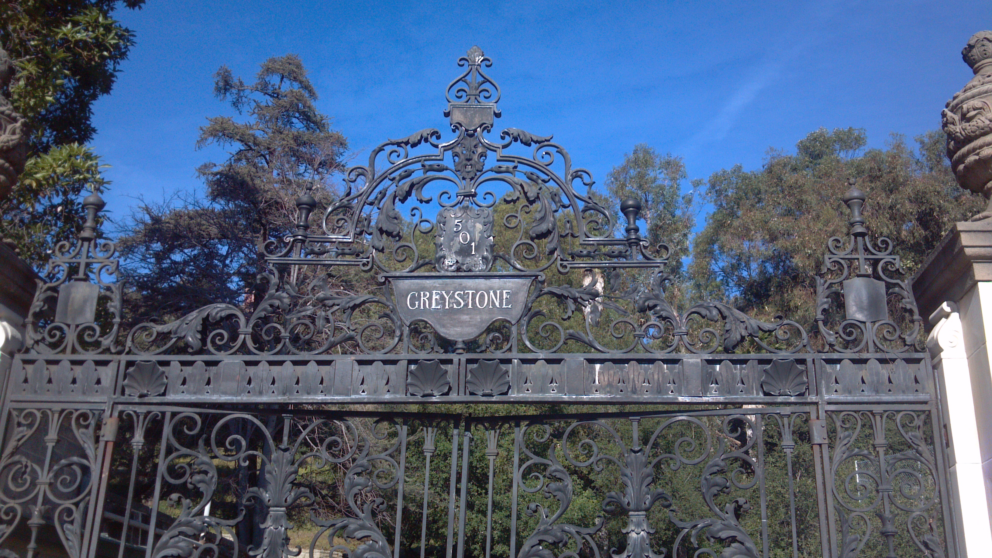 Beverly hills bar foundation event at greystone mansion for La celebrity home tours
