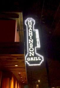 Hutchinson Restaurant in L.A.