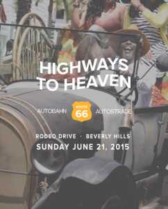 Annual Rodeo Drive Car Show on Father's Day 2015
