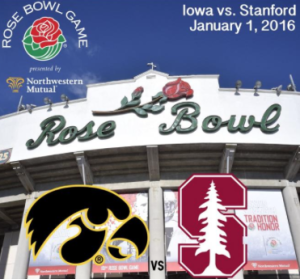 Rose Bowl Game and Rose Parade in Pasadena, California