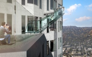 SkySlide in Downtown Los Angeles
