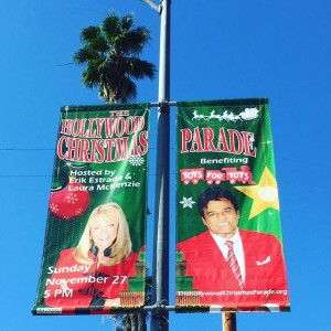 Hollywood Christmas Parade Hosts