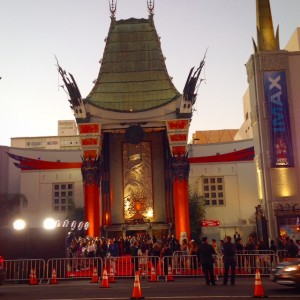 See a movie at Graumans Chinese IMAX Theater in Hollywood