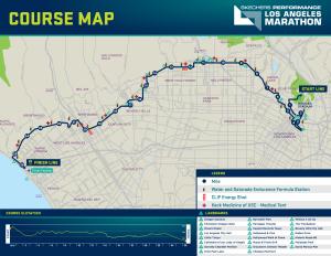 Los Angeles Marathon 2017 Course