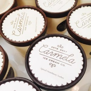 Flavors of Carmela Ice Cream