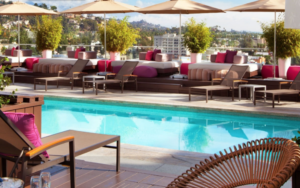 Rooftop Pool W Hollywood Hotel