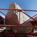 LACMA Levitated Mass and art in Los Angeles
