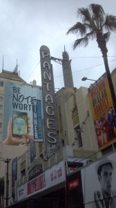 Los Angeles tour companies and The Pantages Theatre