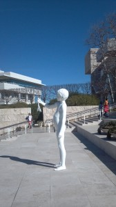 The Entrance to The Getty Center in Brentwood