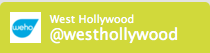 The perfectly centered City of West Hollywood