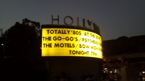 Hollywood Bowl 2014 Calendar