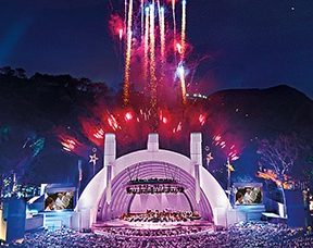 Hollywood Bowl Fireworks and Calendar