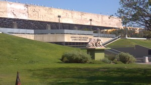 The Page Museum and The La Brea Tar Pits