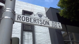 Robertson Boulevard in West Hollywood
