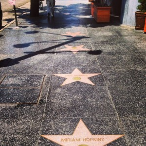Walk of Fame near Capitol Records