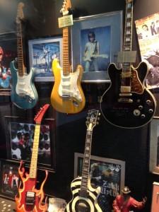 Rock Walk at Guitar Center