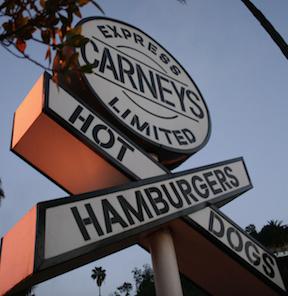 Carney's Hotdogs in Los Angeles