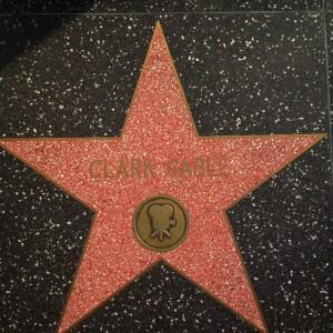 Walk of Fame Clark Gable