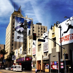 Pantages Theatre in Hollywood