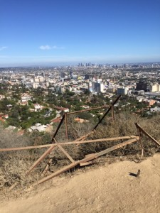 Runyon Canyon View of DTLA