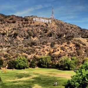 Beachwood Canyon Near the Hollywood Sign
