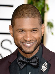 Usher on Walk of Fame