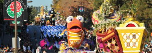 Rose Parade in Pasadena 2017