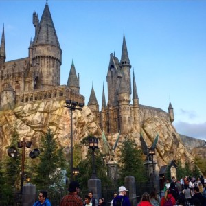 Harry Potter Castle at Universal Studios Hollywood