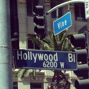 The W Hotel is Located at Hollywood and Vine