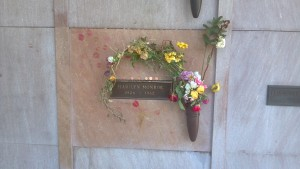 Resting Place of Marilyn Monroe