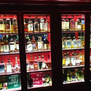 One of several bars inside Tam O'Shanter