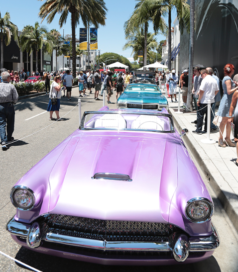 Car Show In Beverly Hills Glitterati Tours - Beverly hills car show