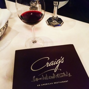 Craig's Restaurant for Celebrity Sightings in Hollywood