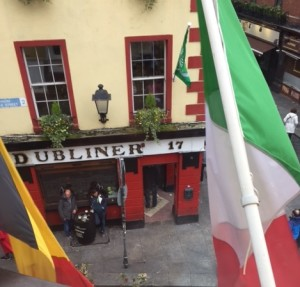 The Temple Bar Area in Dublin