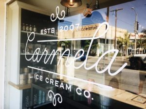 Carmela Ice Cream Los Angeles