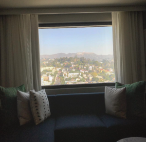 Suite View of Hollywood Sign