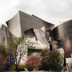 Walt Disney Concert Hall in Downtown Los Angeles