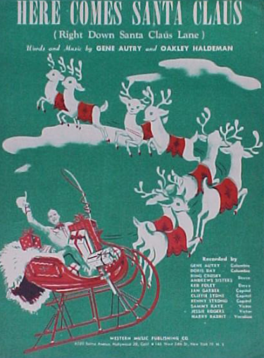 gene autry and christmas
