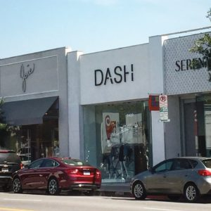 DASH Store on Melrose Avenue