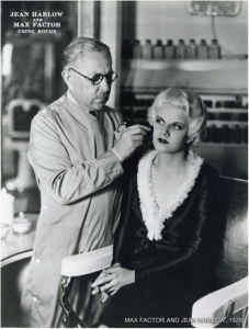 Jean Harlow and Max Factor