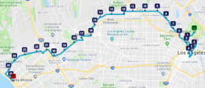 L.A. Marathon 2018 Course