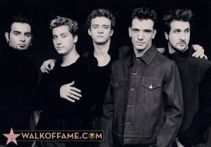 NSYNC Live on The Walk Fame